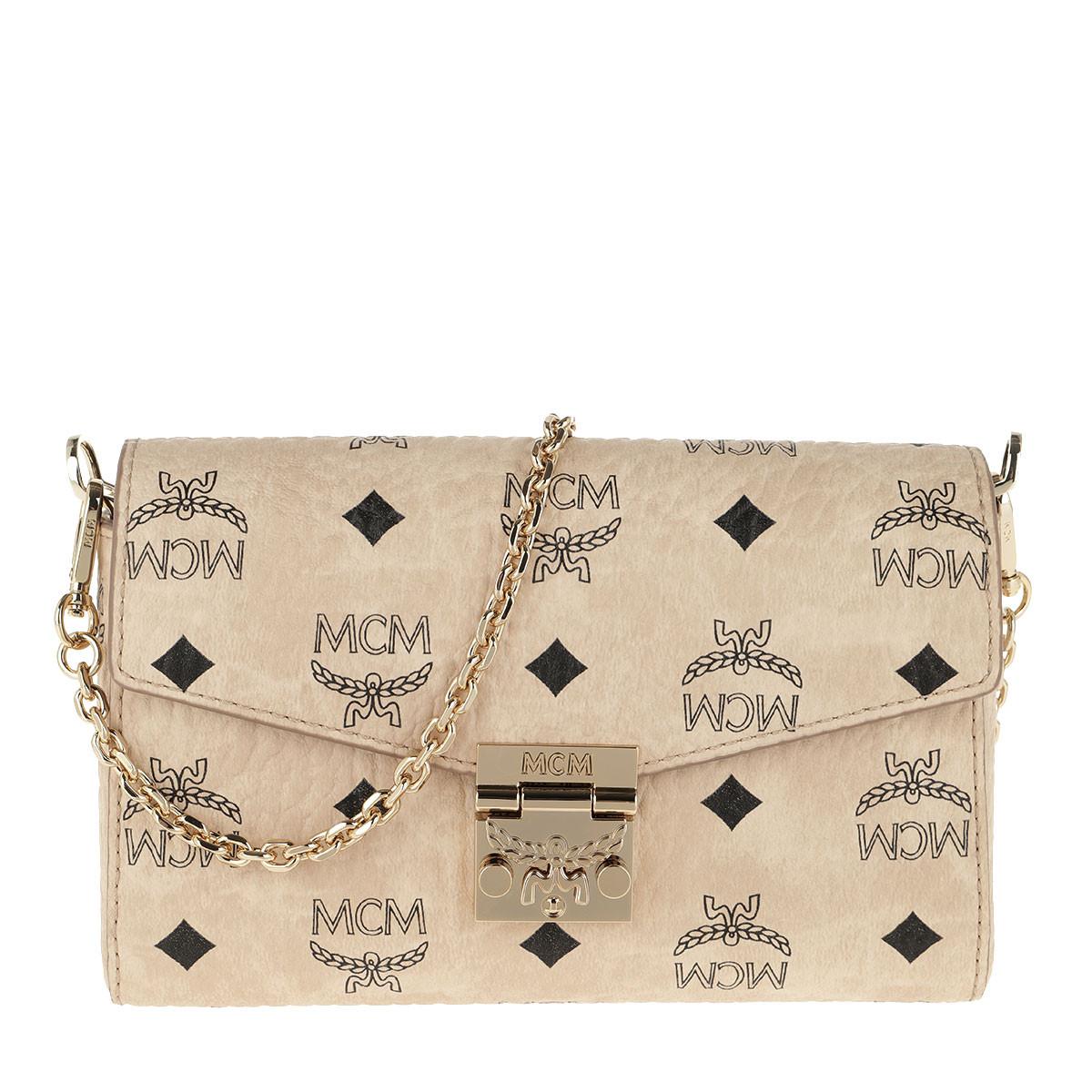 MCM Gürteltasche - Patricia Visetos Belt Bag Small Beige - in beige - für Damen