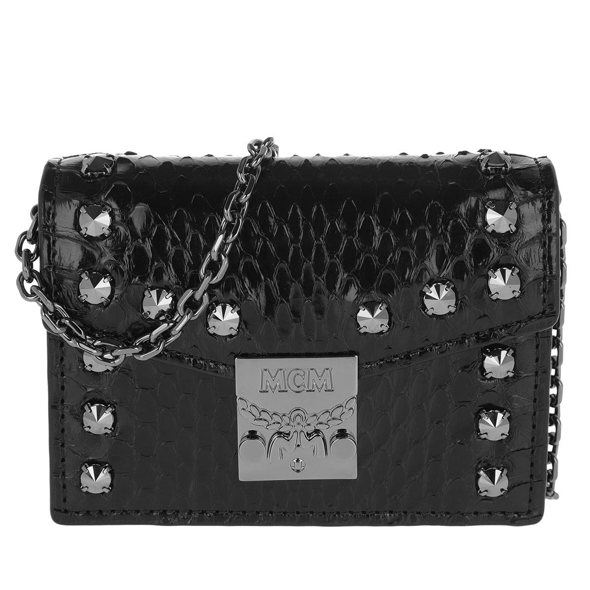 MCM Portemonnaie - Patricia Card Wallet Black - in schwarz - für Damen