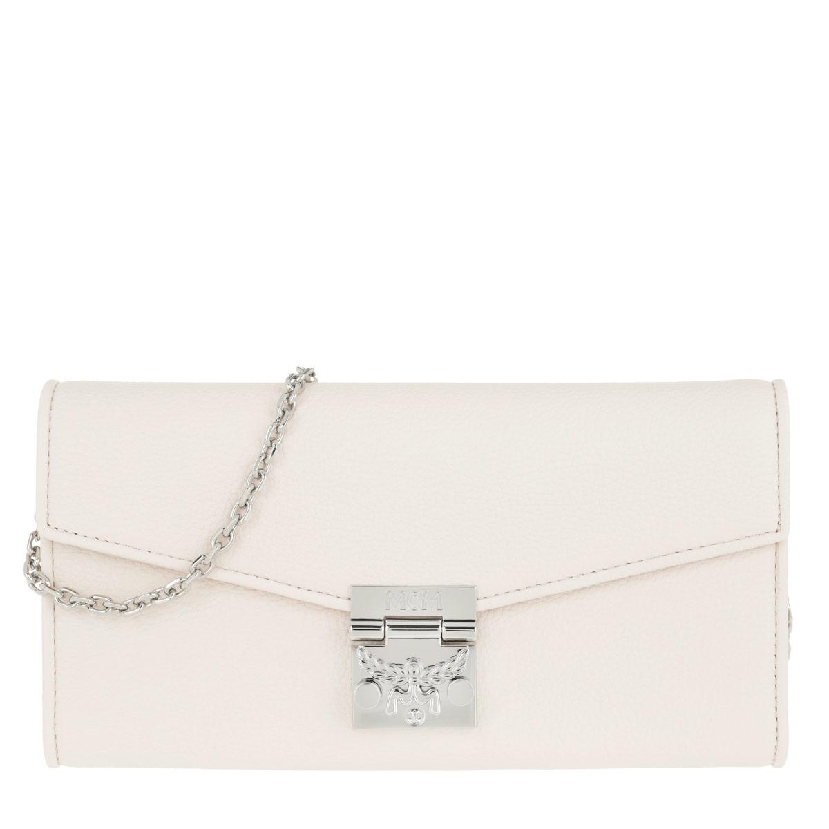 MCM Portemonnaie - Patricia Park Avenue Flap Wallet Shell - in rosa - für Damen