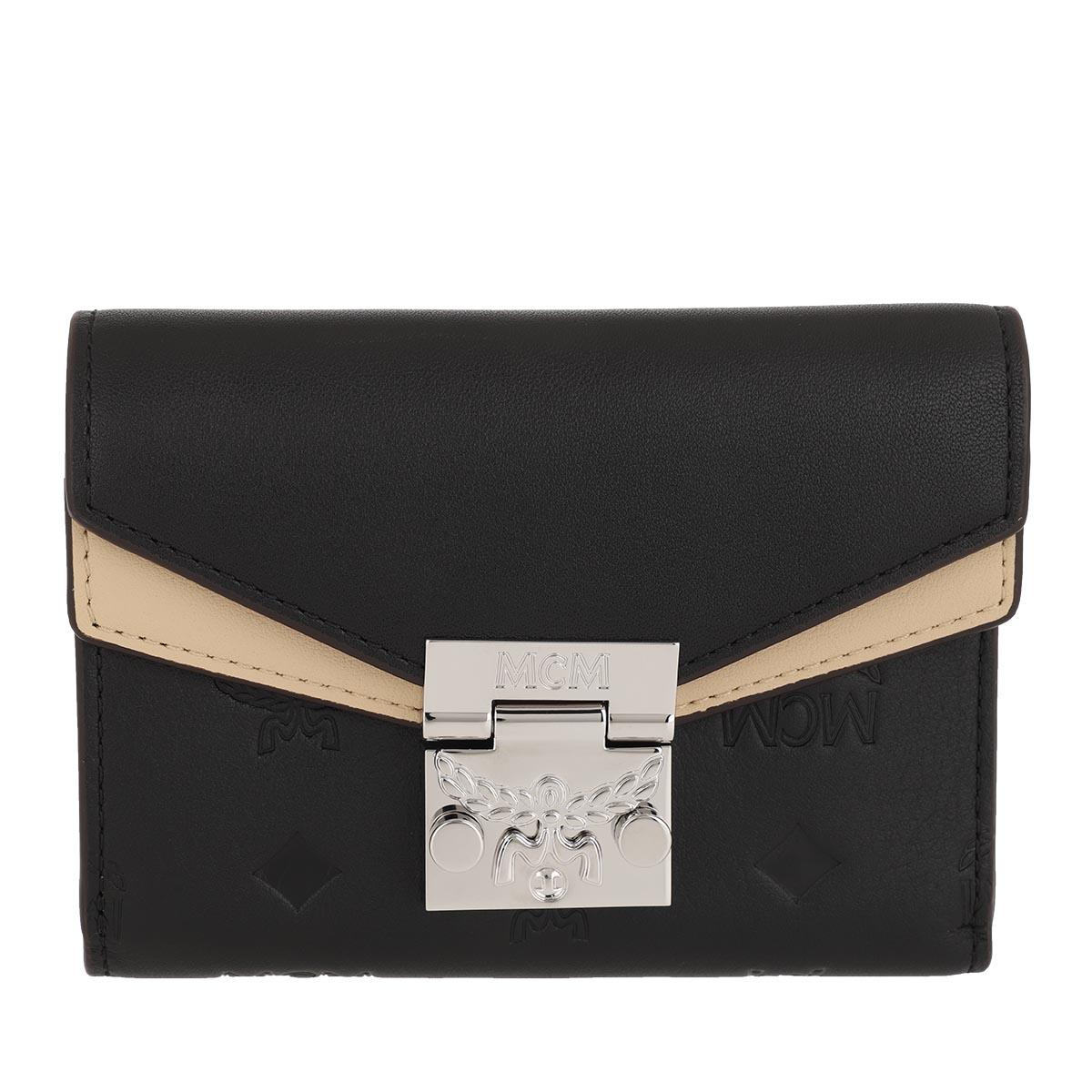 MCM Portemonnaie - Small Wallet Black - in schwarz - für Damen