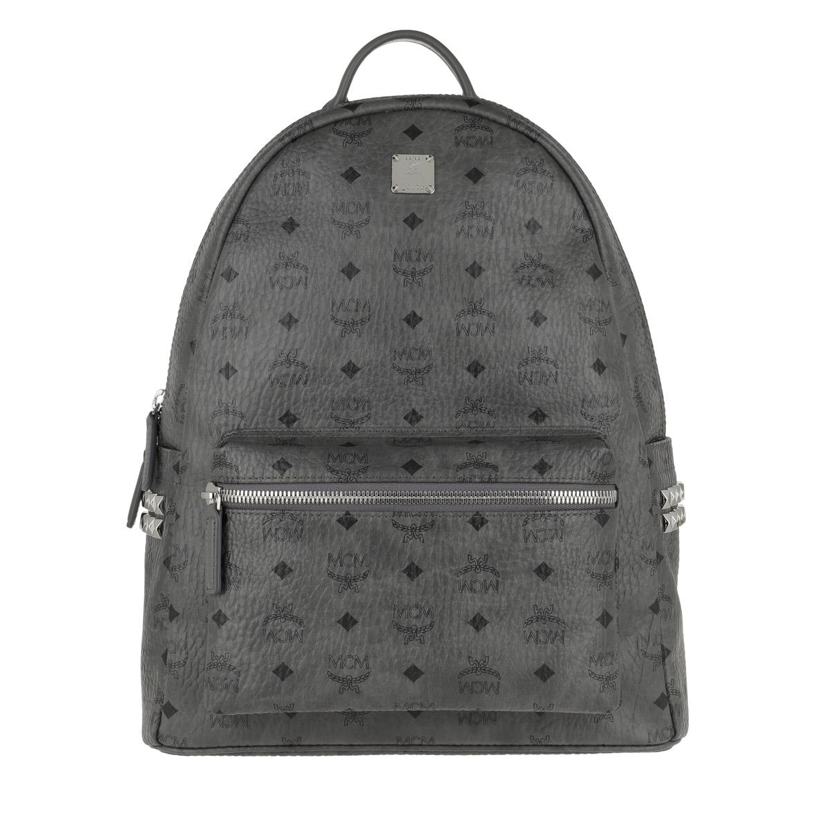 MCM Rucksack - Stark Backpack Medium Phantom Grey - in grau - für Damen