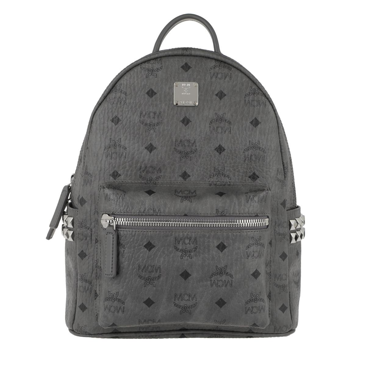 MCM Rucksack - Stark Backpack Small Phantom Grey - in grau - für Damen