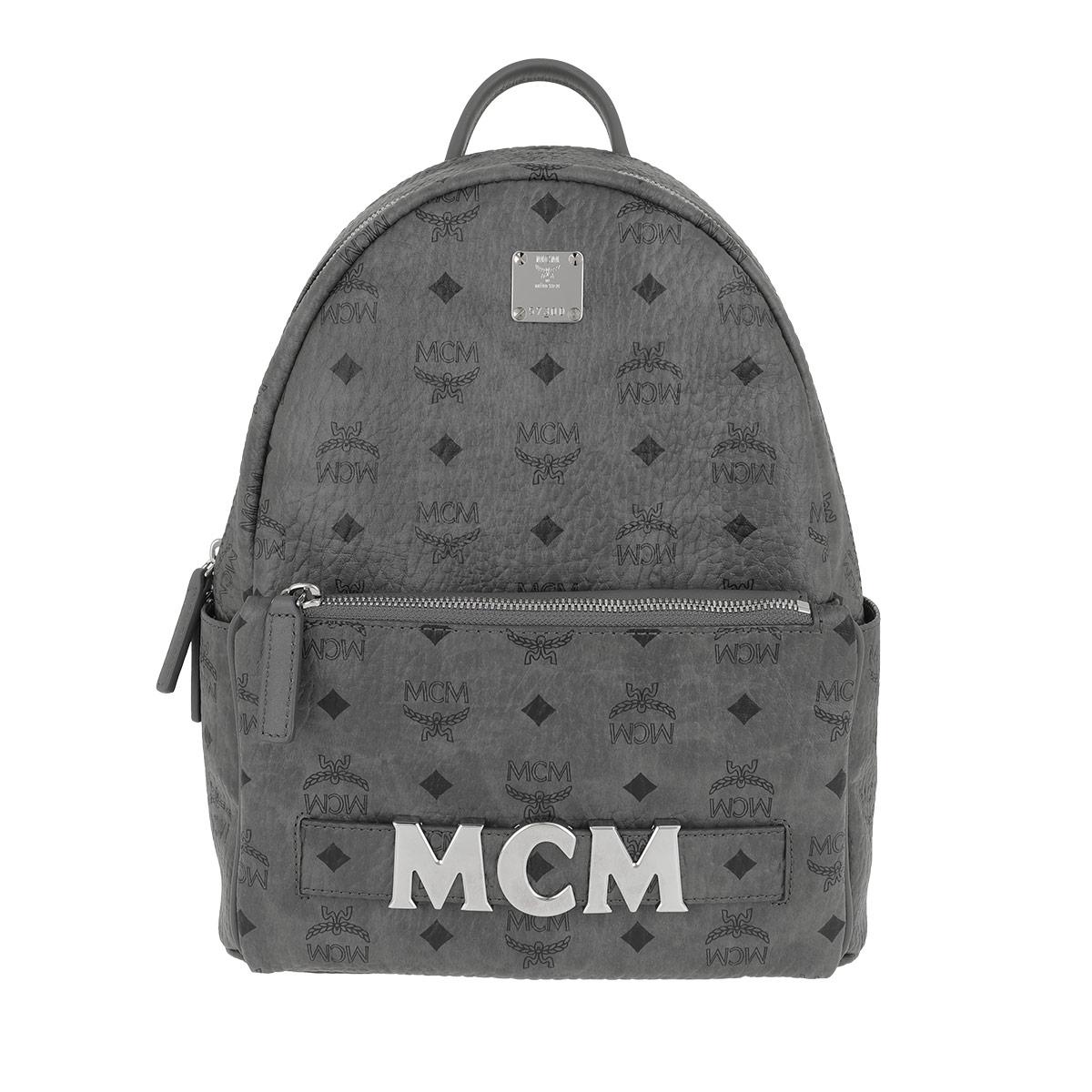 MCM Rucksack - Trio Stark Backpack Small Phantom Grey - in grau - für Damen