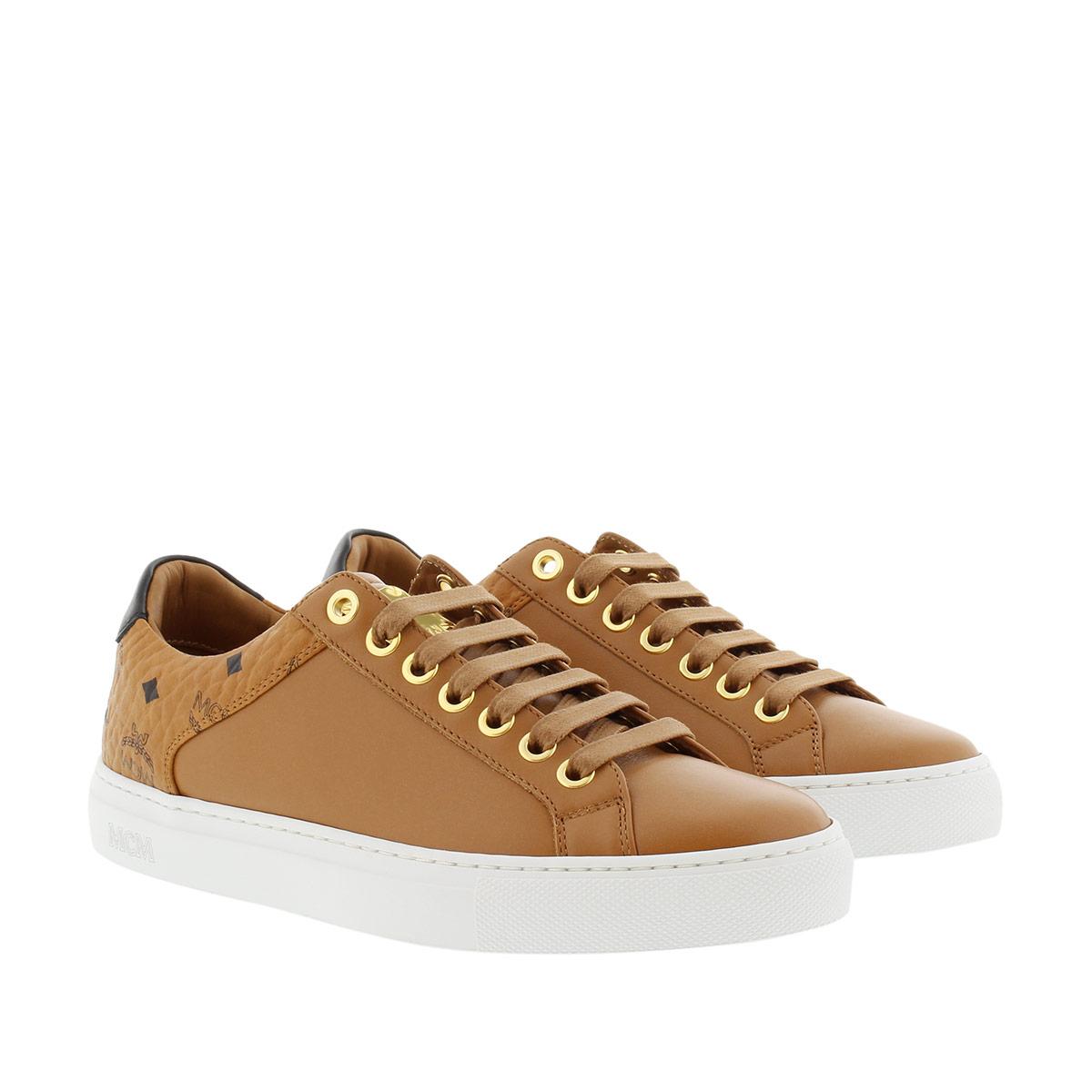 Sneaker Visetos Cognac In Damen Sneakers Mcm Combi Für c3ARj54Lq