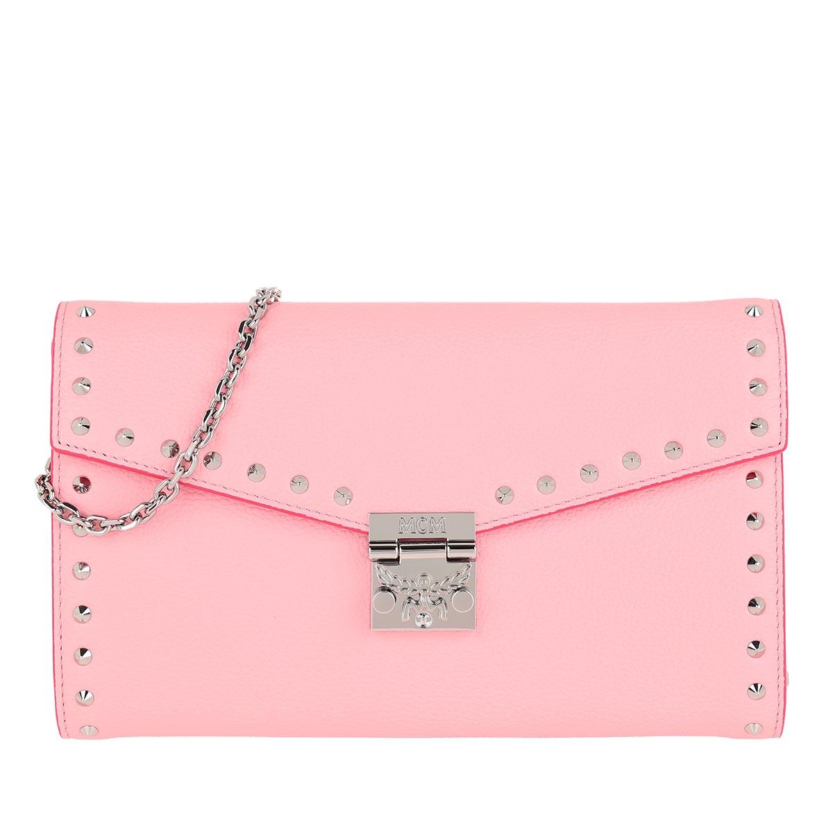MCM Umhängetasche - Large Continental Wallet Quartz Pink - in rosa - für Damen