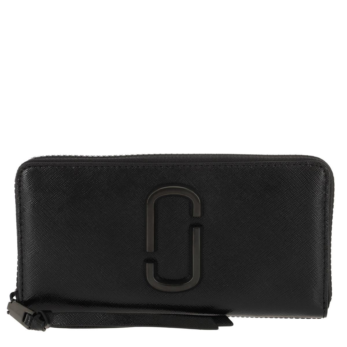 Marc Jacobs Portemonnaie - Snaphot DTM Standard Continental Wallet Black - in schwarz - für Damen