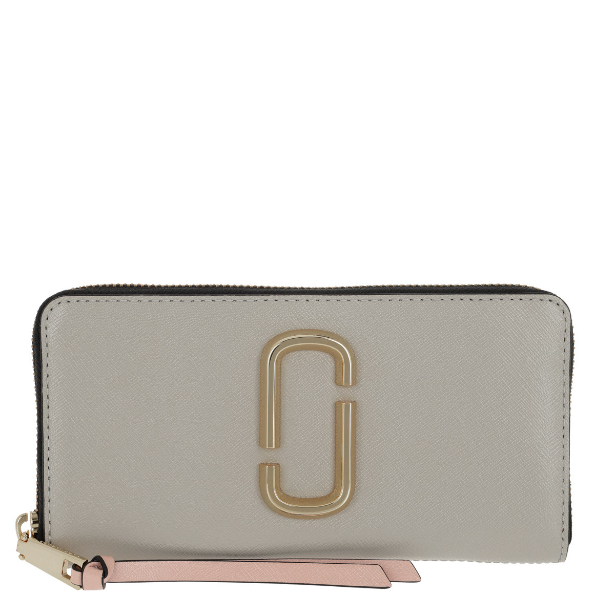 Marc Jacobs Portemonnaie - Snapshot Standard Continental Wallet Leather Dust/Multi - in grau - für Damen
