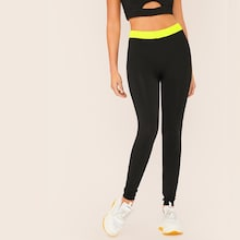 Neon Lime Wideband Waist Leggings