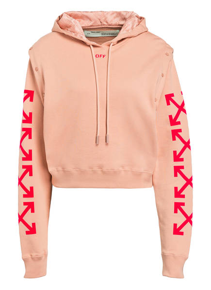 Off White Hoodie rosa