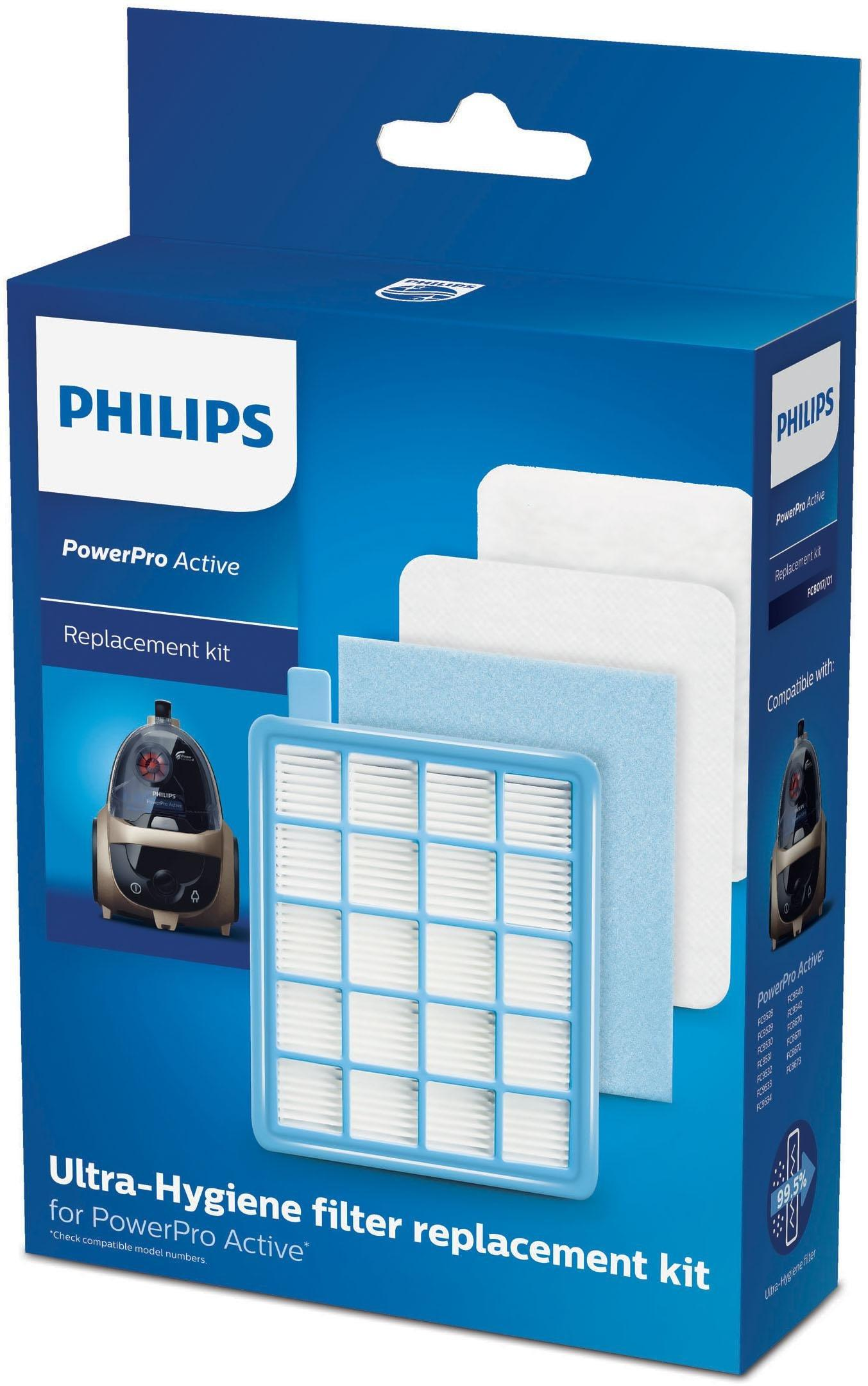Philips Filter Set FC801701 PowerPro Active, Zubehör für