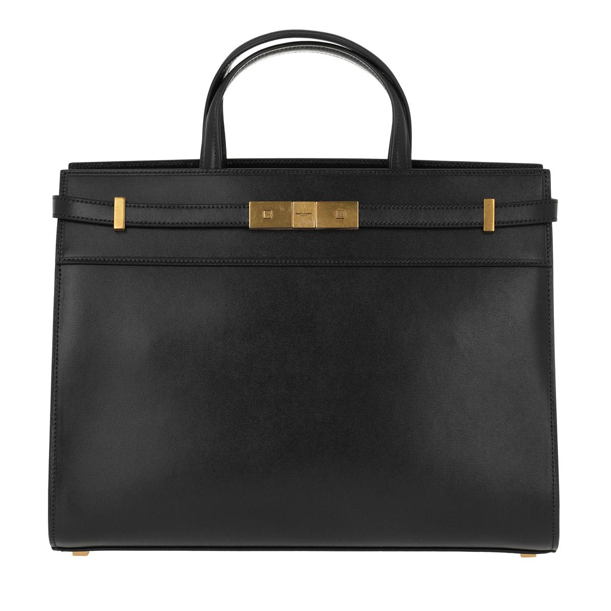 Saint Laurent Shopper - Manhattan Shopper Medium Black - in schwarz - für Damen