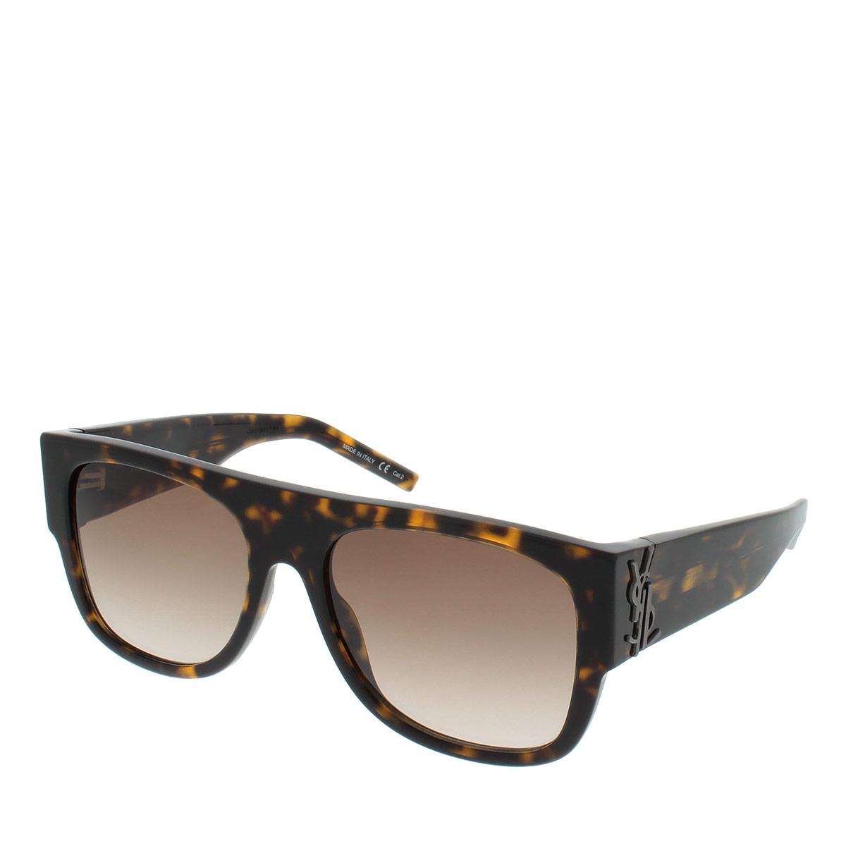 Saint Laurent Sonnenbrille - SL M16 55 002 - in braun - für Damen