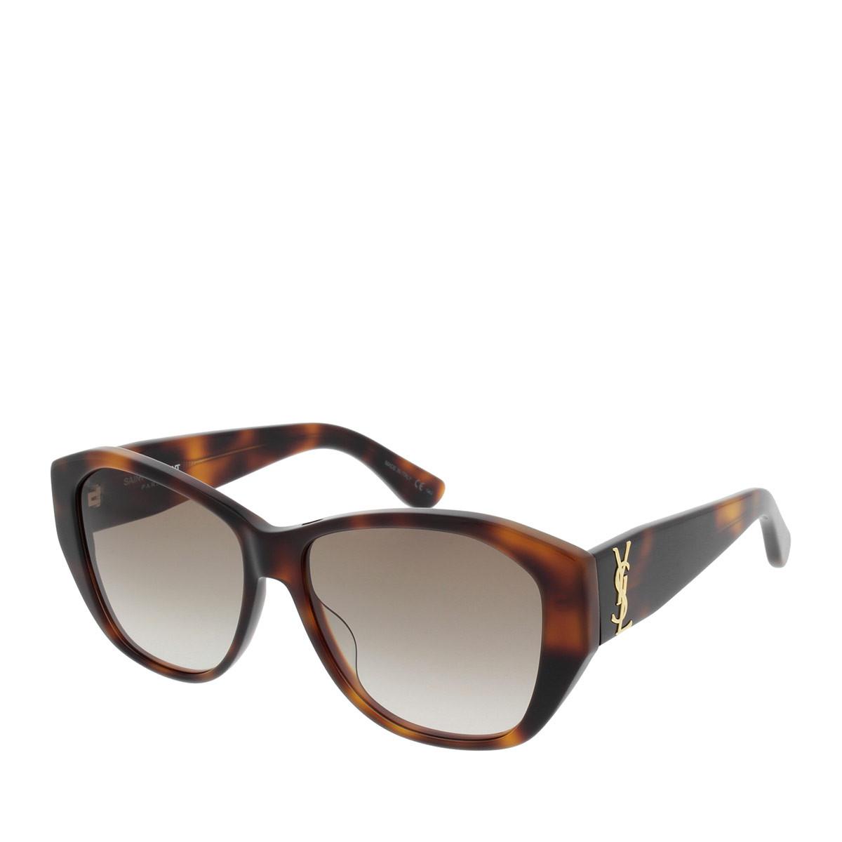 Saint Laurent Sonnenbrille - SL M8 003 56 - in braun - für Damen