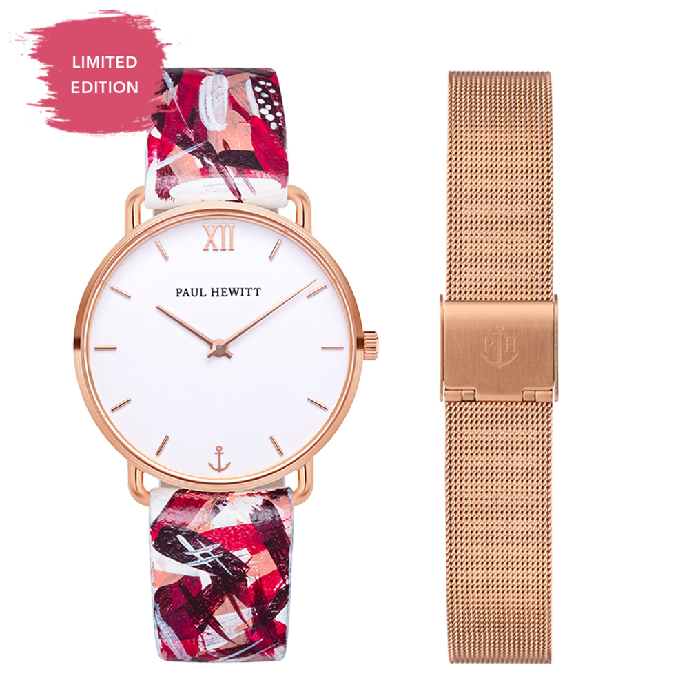 Set Perfect Match Born Originals Miss Ocean Line und Pink Camo Strap