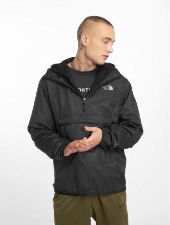 günstig starke verpackung Größe 7 The North Face Männer Übergangsjacke Fanorak in schwarz
