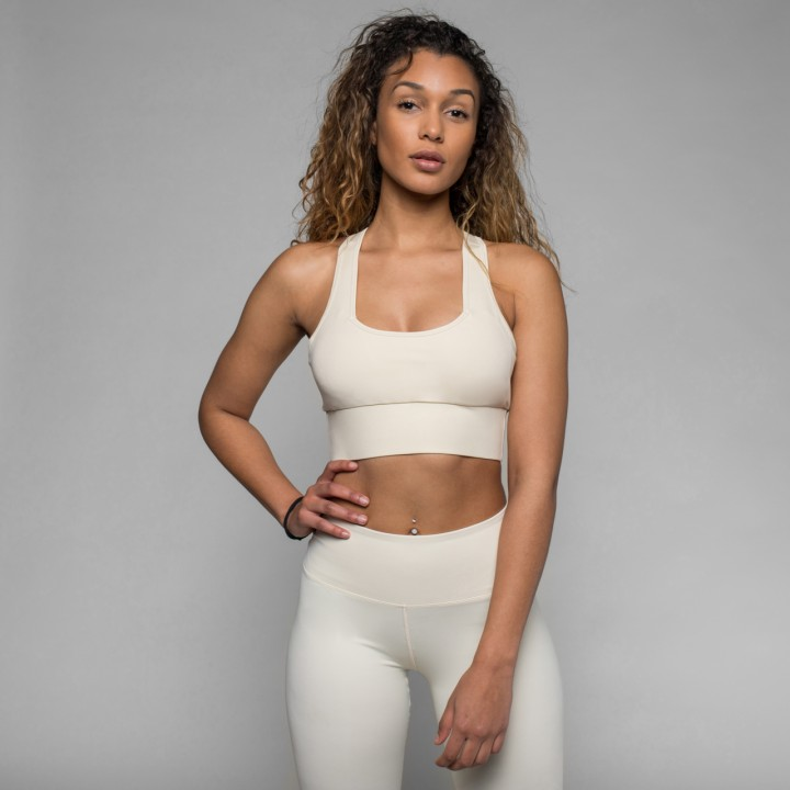 Beyond Limits Pure Sports Bra sand