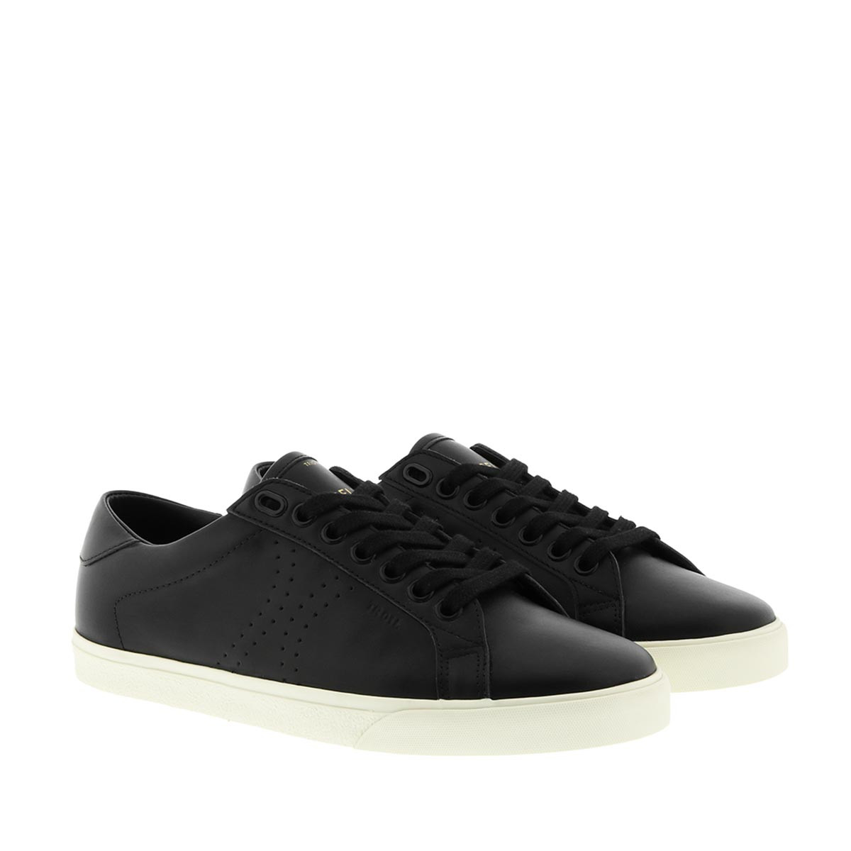 Celine Sneakers - Lace-up Sneakers Black - in schwarz - für Damen