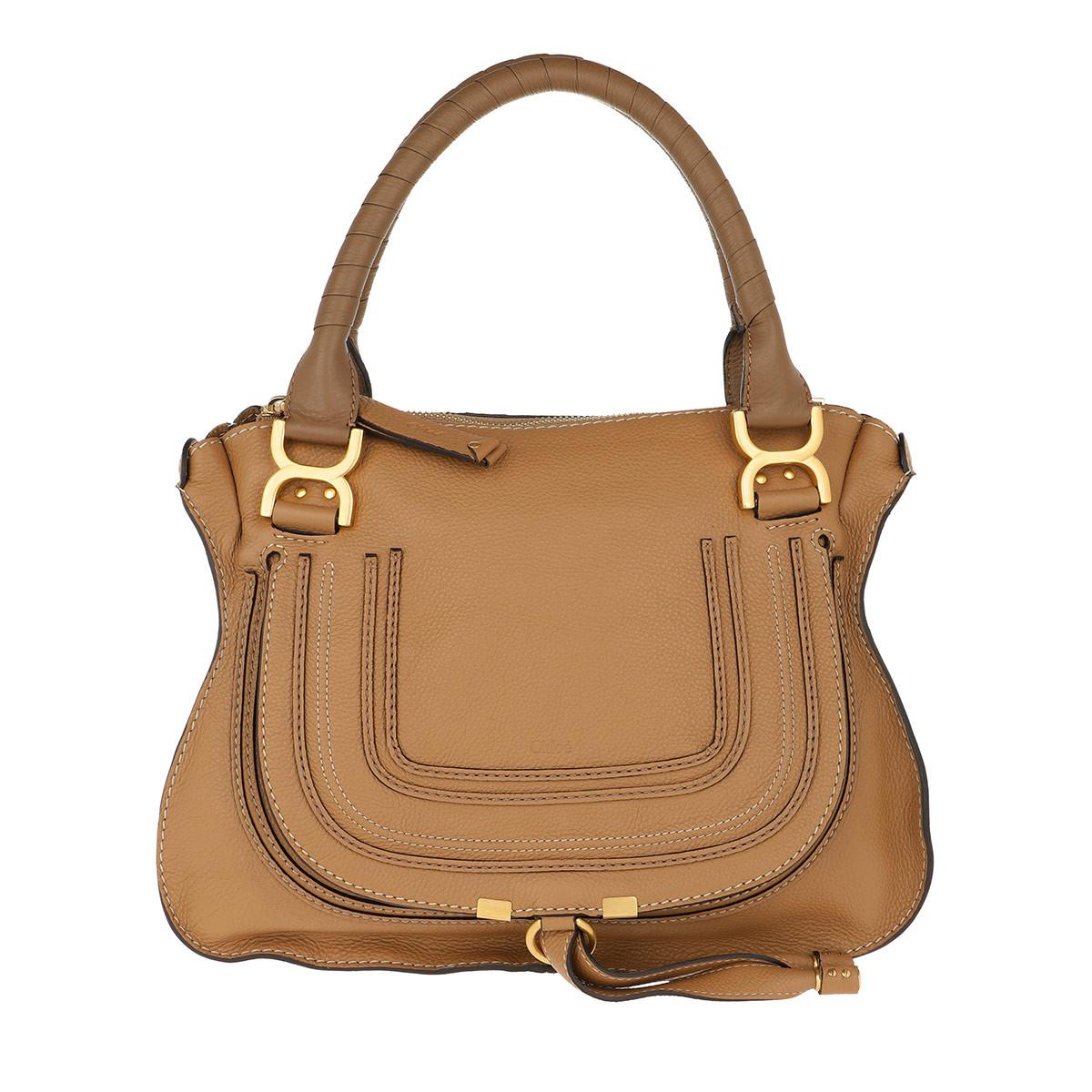 Chloé Tote - Marcie Medium Shoulder Bag Nut - in braun - für Damen