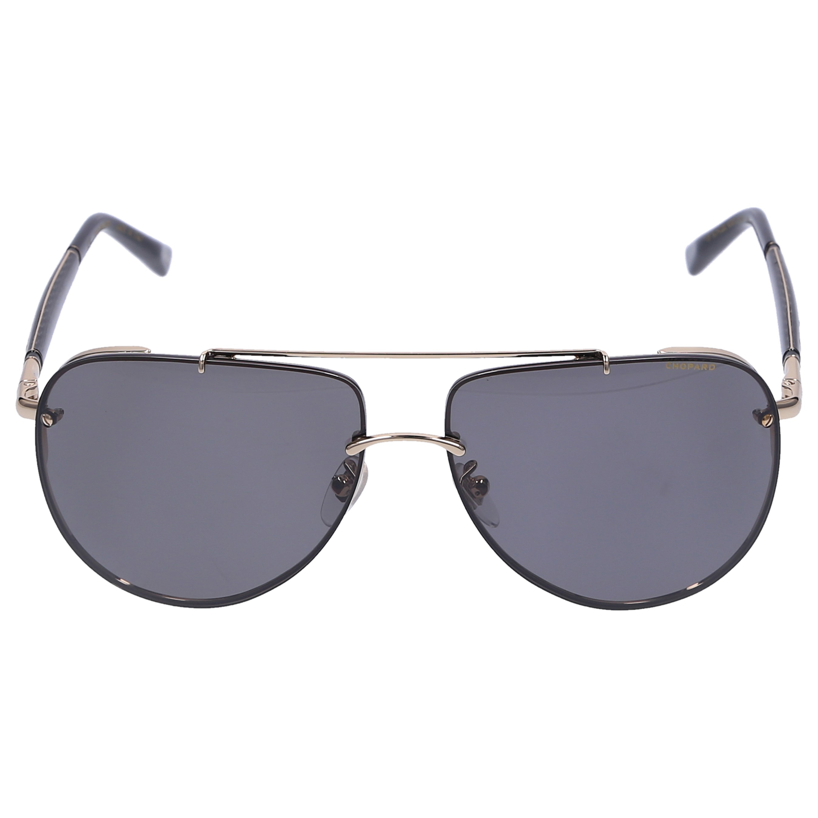 Chopard Sonnenbrille Aviator SCH28 301Z Carbon gold