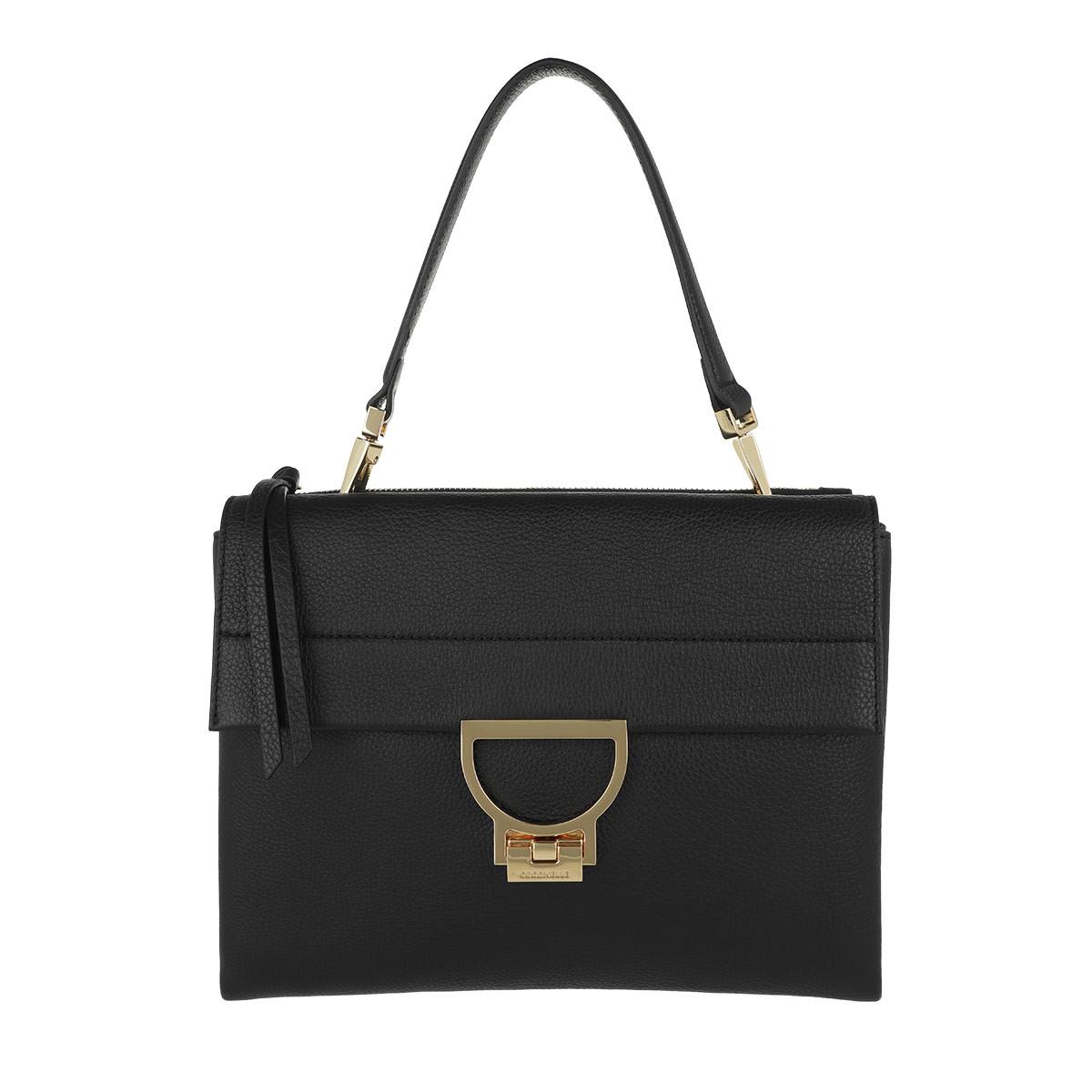 Coccinelle Satchel Bag - Arlettis Shoulder Bag Noir - in schwarz - für Damen
