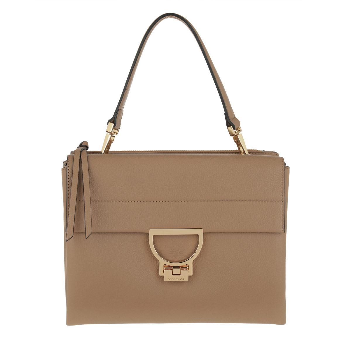 Coccinelle Umhängetasche - Arlettis Shoulder Bag Desert - in beige - für Damen