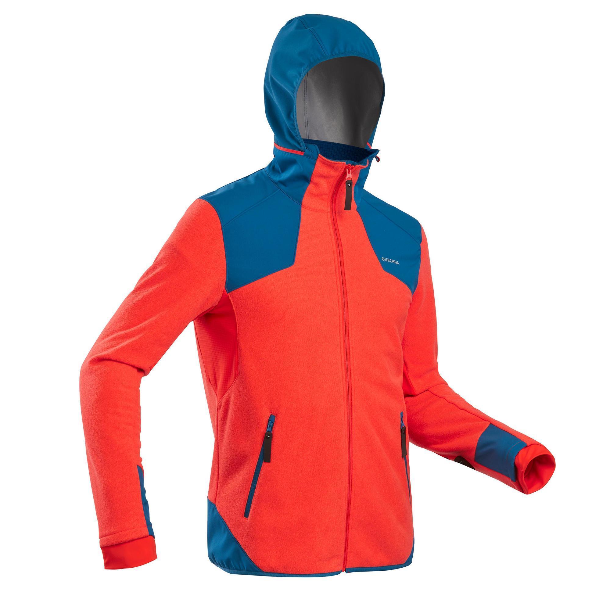 Winterjacke Winterwandern SH500 Extra Warm Herren