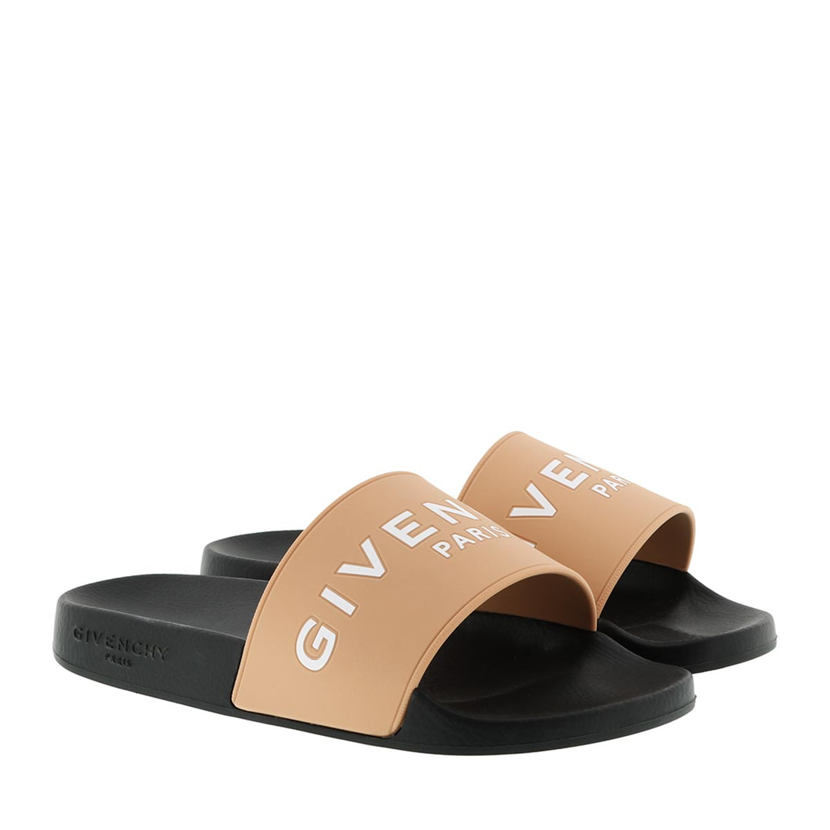 Givenchy Schuhe - Rubber Slides Sandals Nude - in beige - für Damen