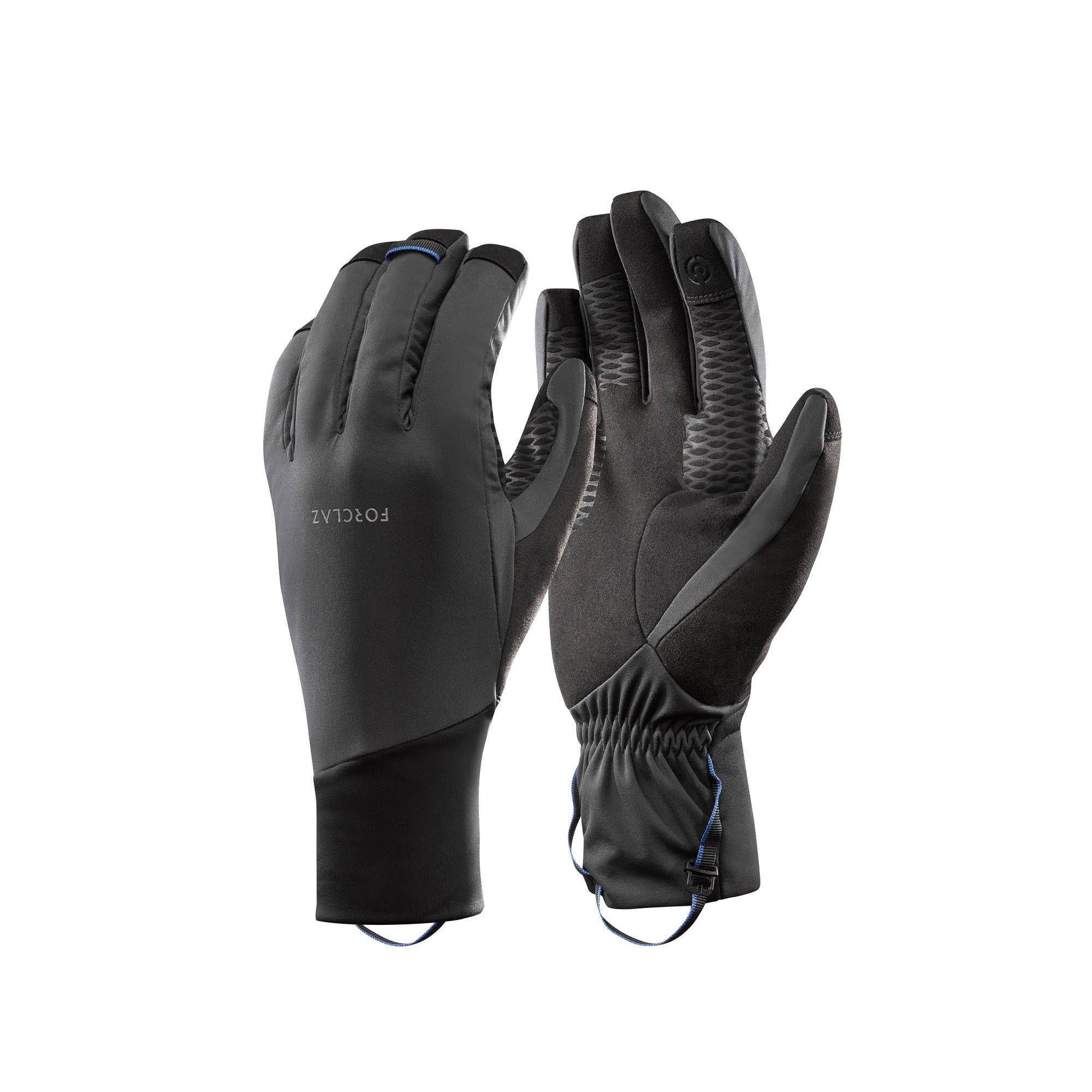 Handschuhe Trek 900 winddicht Erwachsene grau