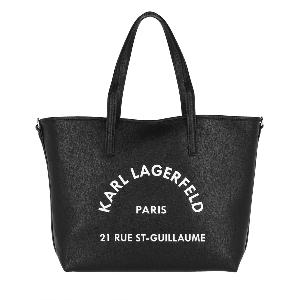 Karl Lagerfeld Shopper - Rue St Guillaume Tote Black - in schwarz - für Damen
