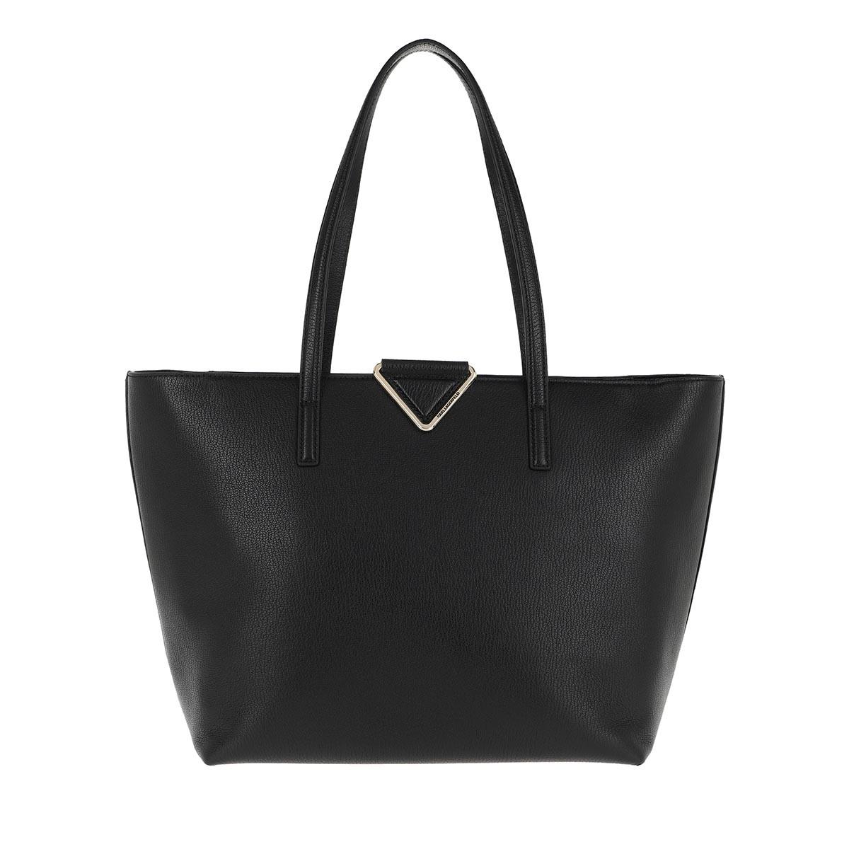 Karl Lagerfeld Shopper - Vektor Tote Black/Gold - in schwarz - für Damen