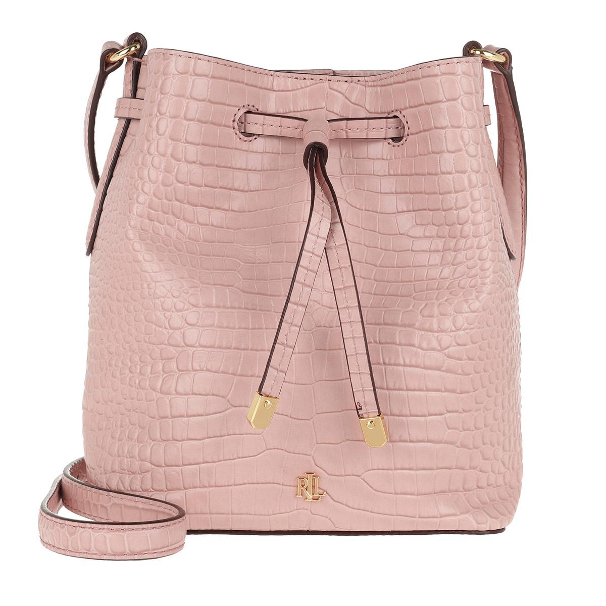 Lauren Ralph Lauren Beuteltasche - Debby II Drawstring Mini Mellow Pink - in rosa - für Damen