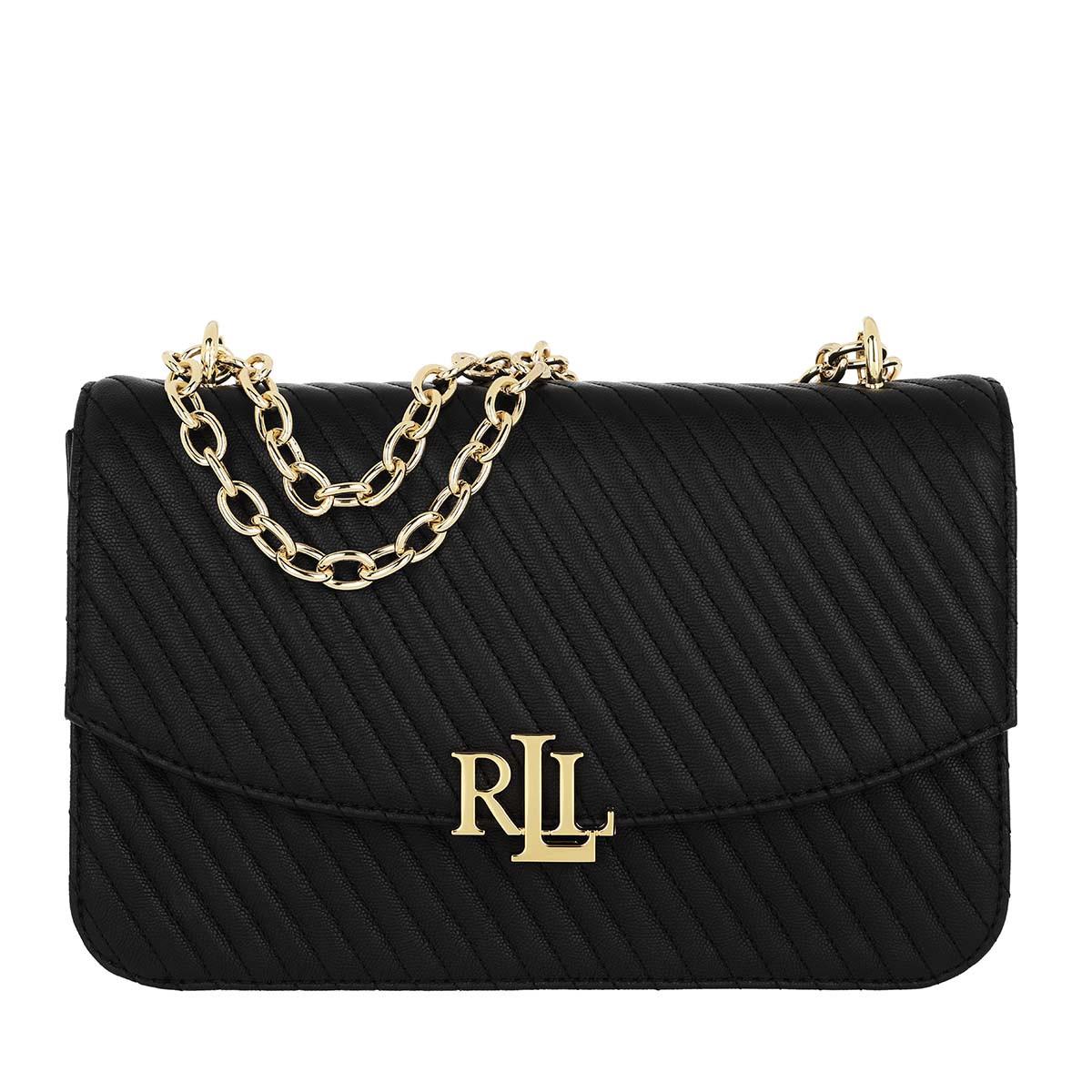 Lauren Ralph Lauren Umhängetasche - Madison Crossbody Large Black - in schwarz - für Damen
