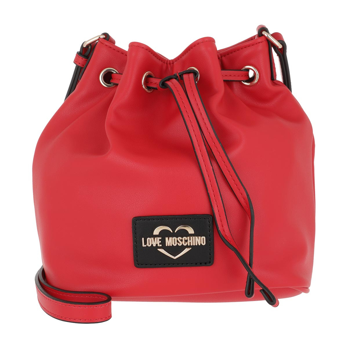 Love Moschino Beuteltasche - Drawstring Tassel Bag Rosso - in rot - für Damen