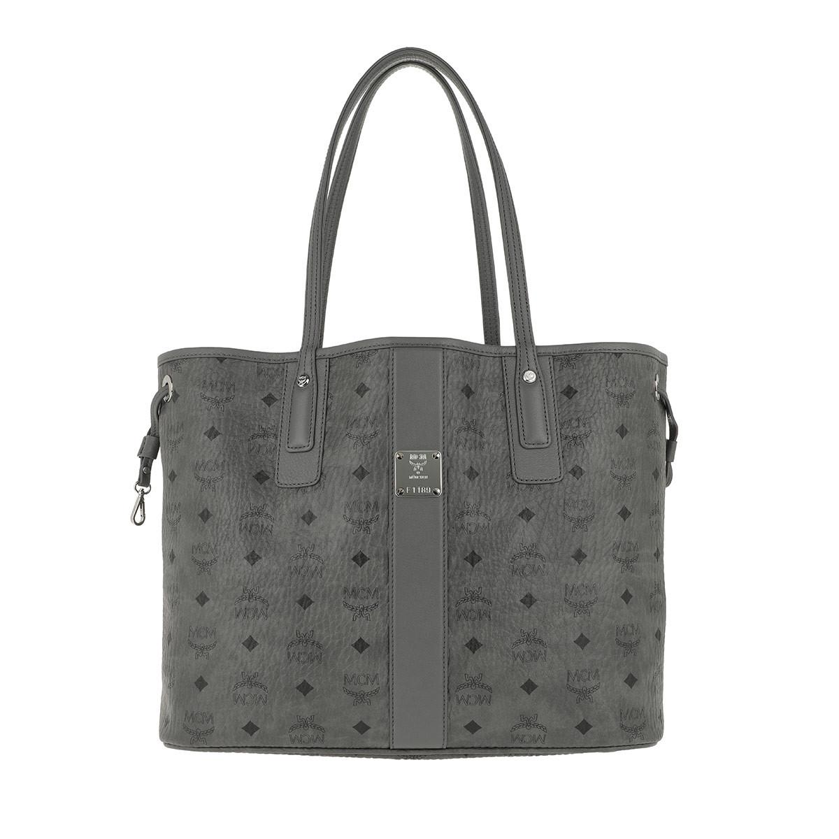 MCM Tote - Shopper Liz Medium Phantom Grey - in grau - für Damen
