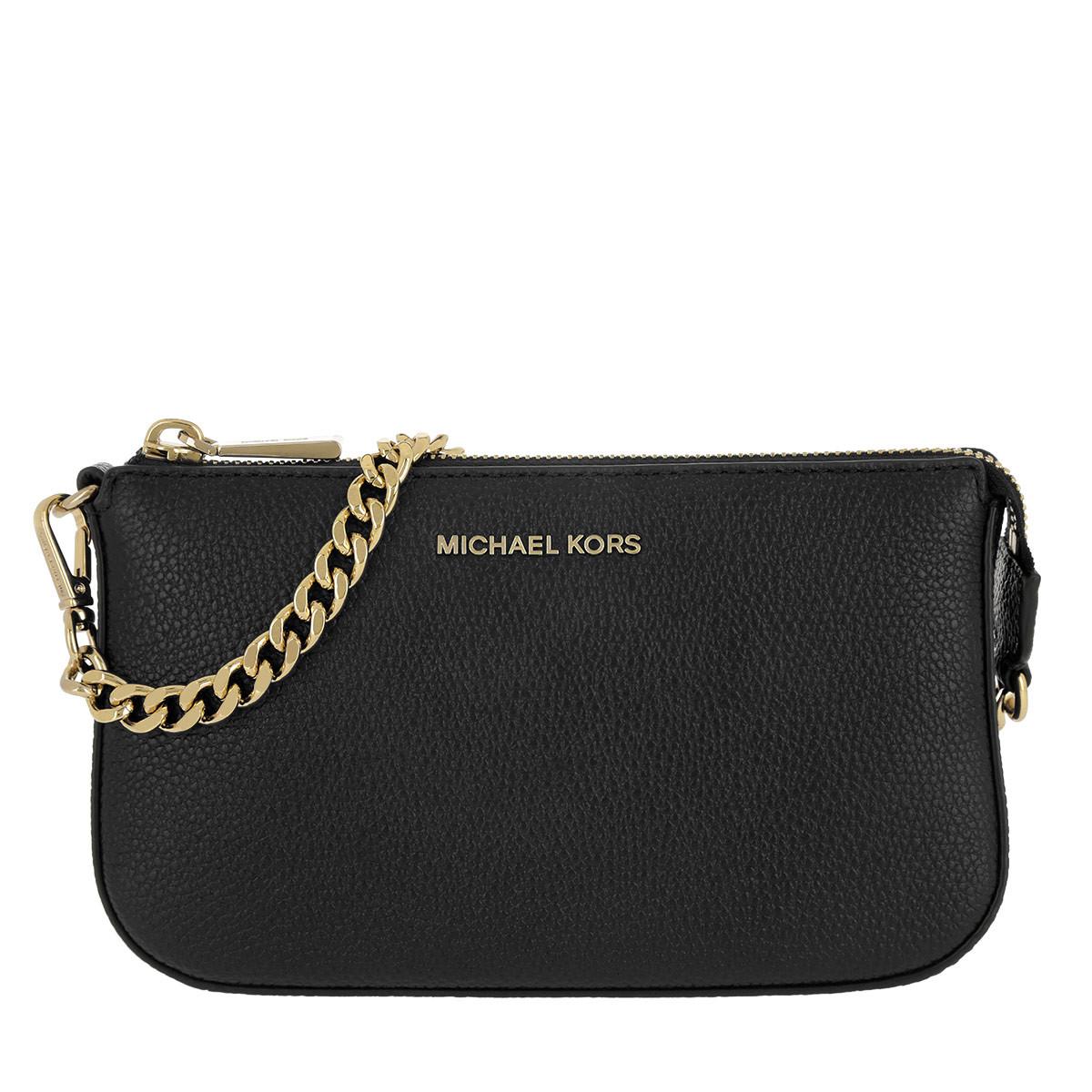 Michael Kors Pochette - Medium Chain Pouchette Black - in schwarz - für Damen