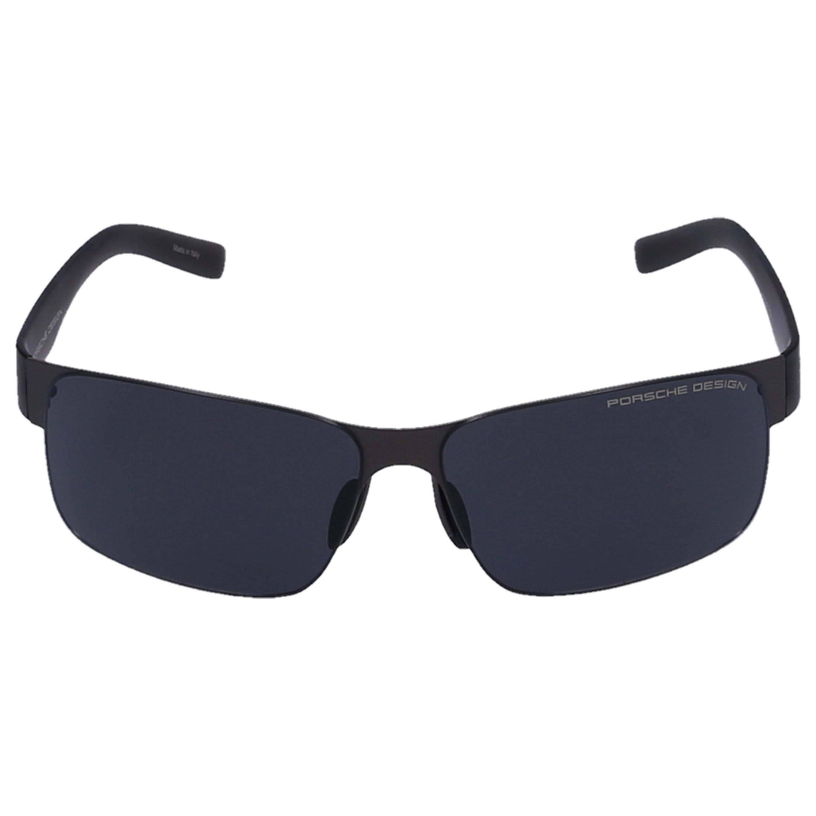 Porsche Design Sonnenbrille Wayfarer 8573 D Acetat grau