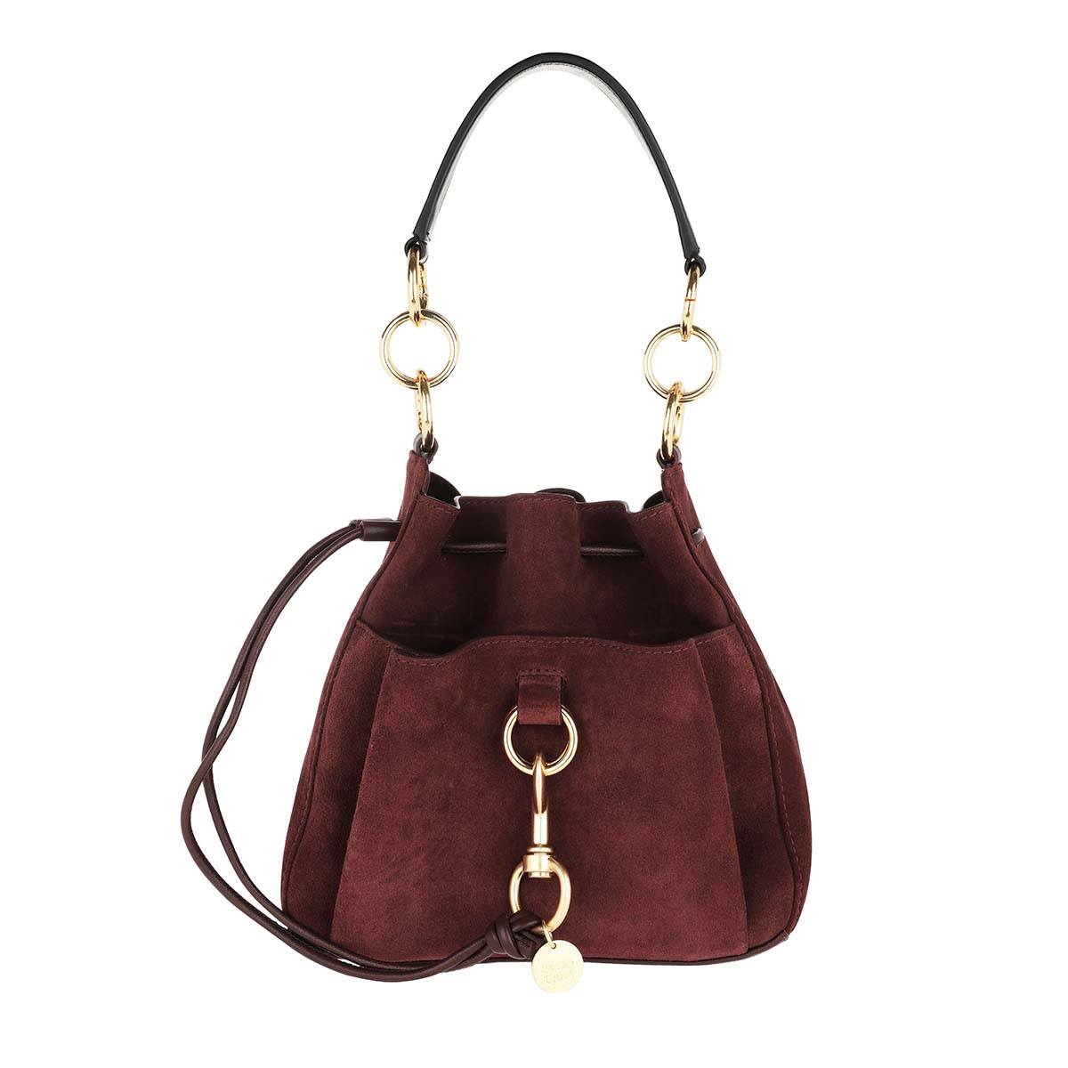 See By Chloé Beuteltasche - Tony Medium Shoulder Bag Burgundy - in rot - für Damen