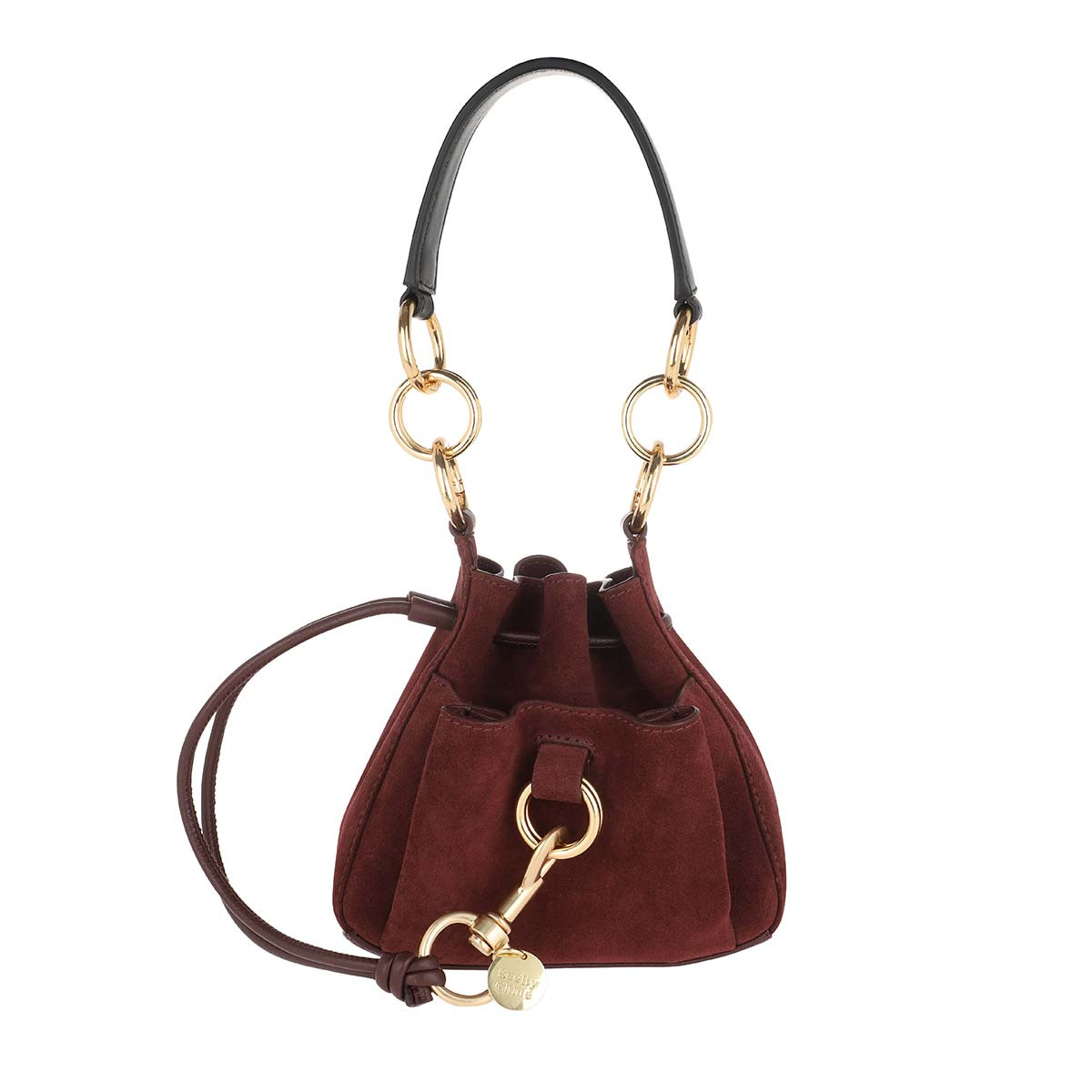 See By Chloé Beuteltasche - Tony Small Shoulder Bag Burgundy - in rot - für Damen
