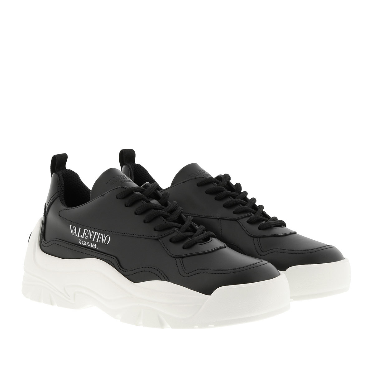 Valentino Sneakers - Gumboy Sneakers Leather Black - in schwarz - für Damen