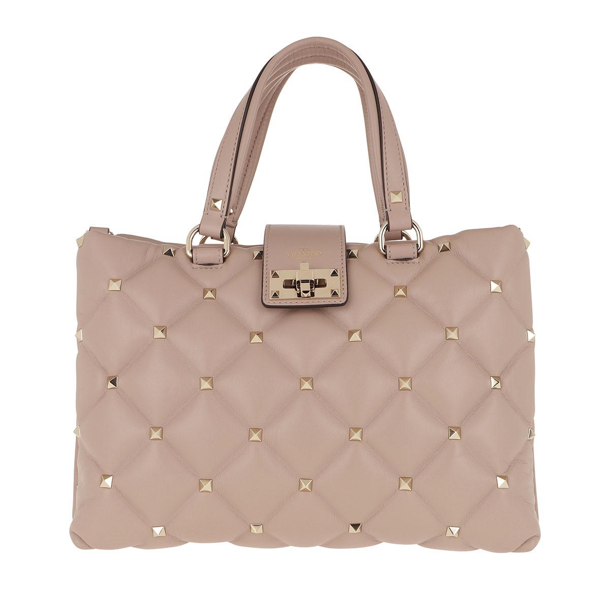 Valentino Tote - Valentino Quilted Handbag Poudre - in rosa - für Damen
