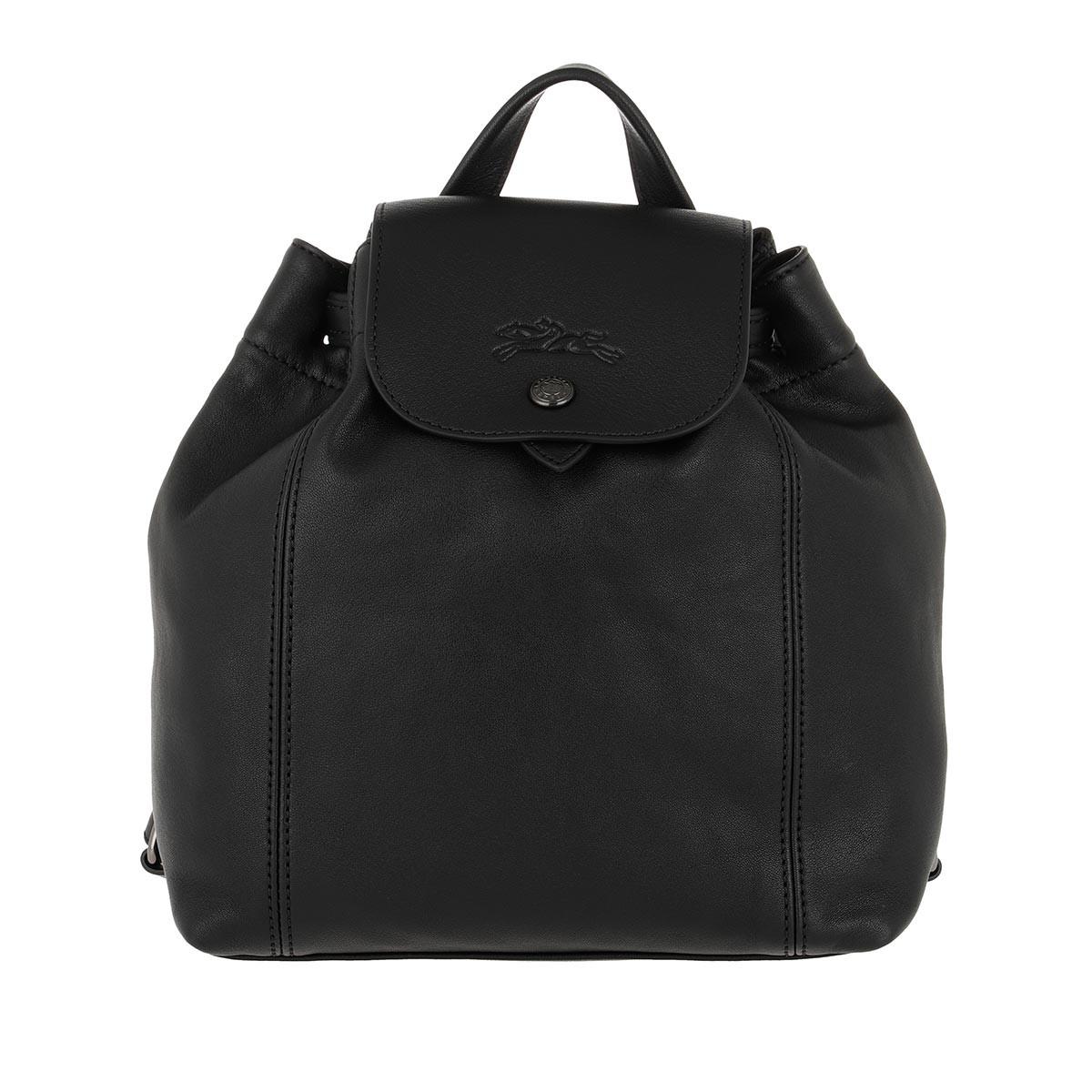 Longchamp Rucksack - Le Pliage Backpack XS Leather Black - in schwarz - für Damen