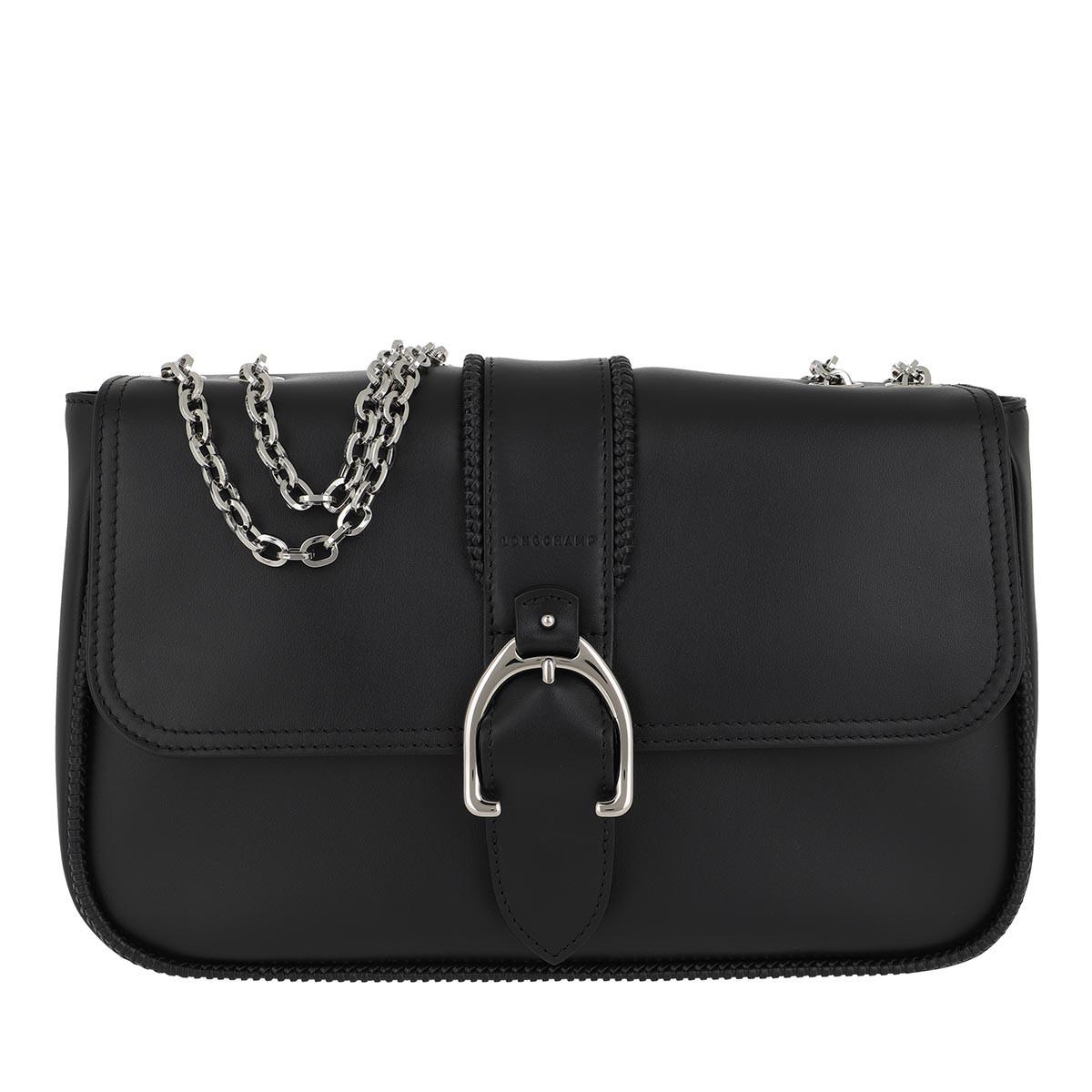 Longchamp Satchel Bag - Amazone Hobo Bag M Black - in schwarz - für Damen