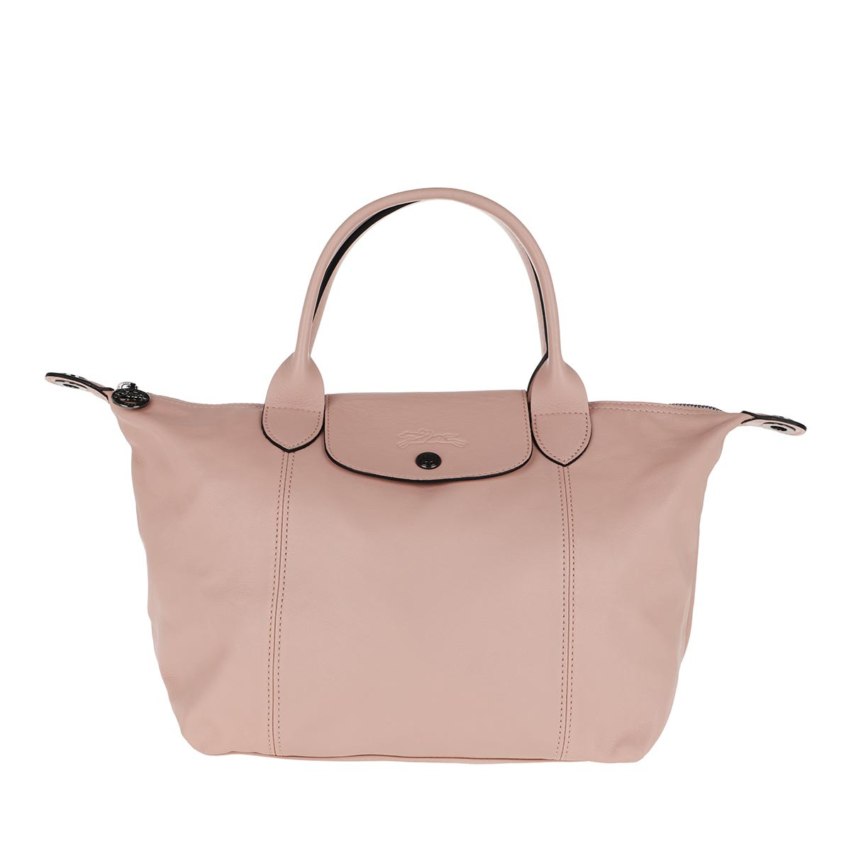 Longchamp Tote - Le Pliage S Leather Powder - in rosa - für Damen