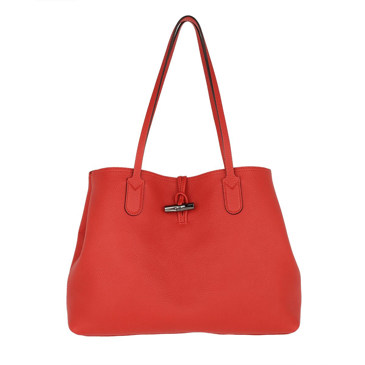 Longchamp Tote - Roseau Essential Shoulder Bag L Red - in rot - für Damen