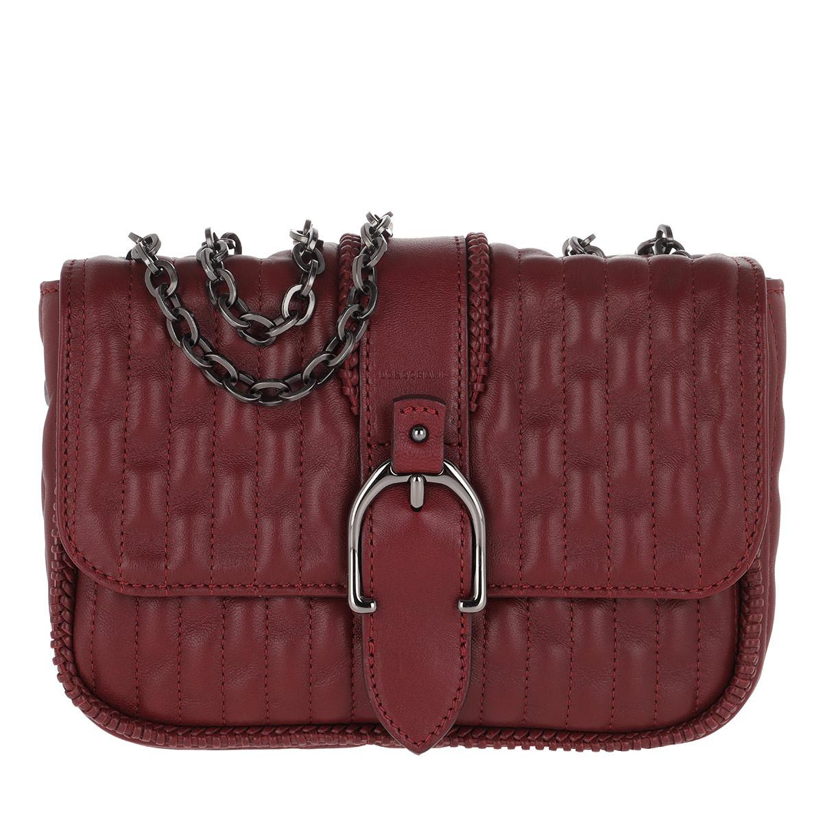 Longchamp Umhängetasche - Amazone Hobo Bag Burgundy - in rot - für Damen