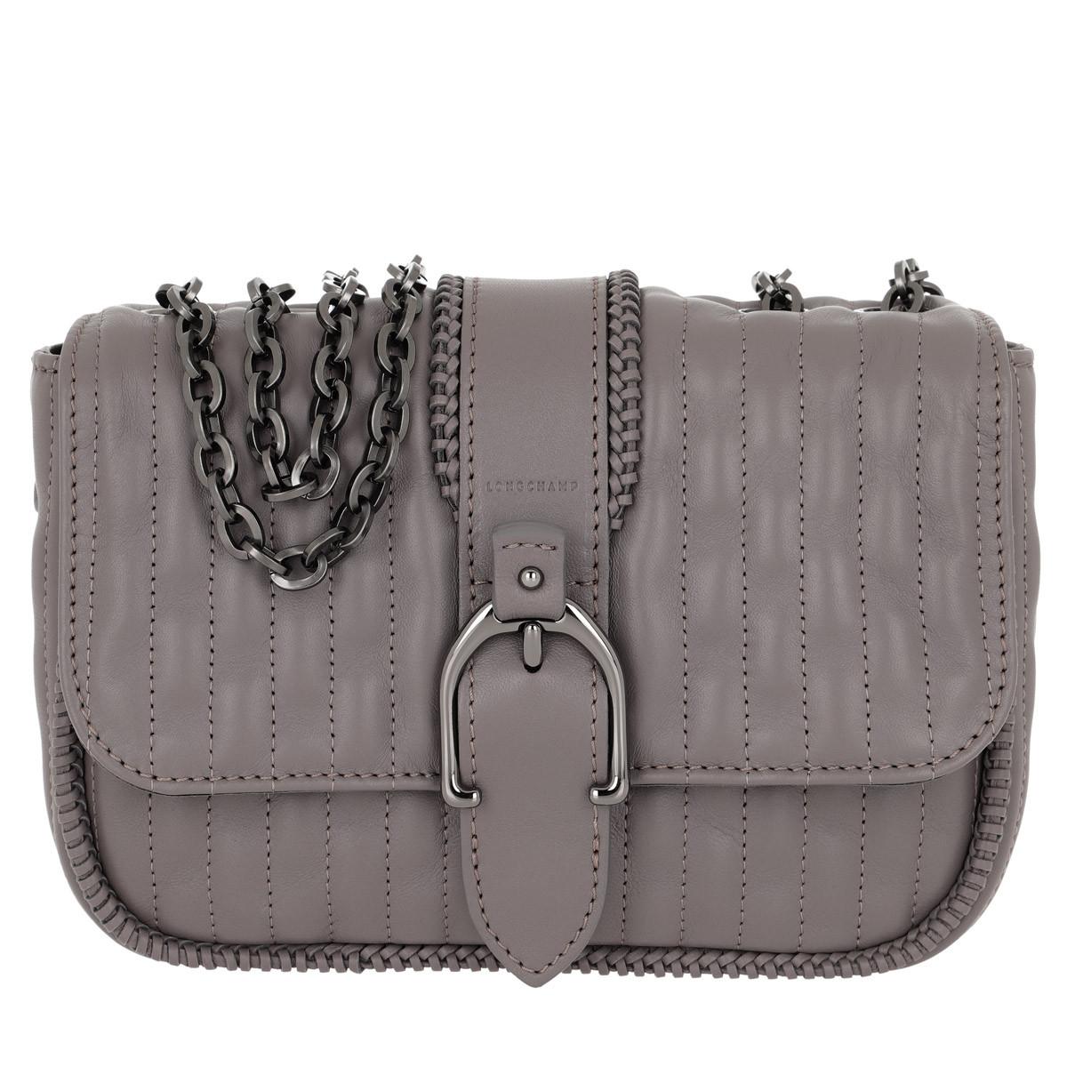 Longchamp Umhängetasche - Amazone Hobo Bag Grey - in grau - für Damen