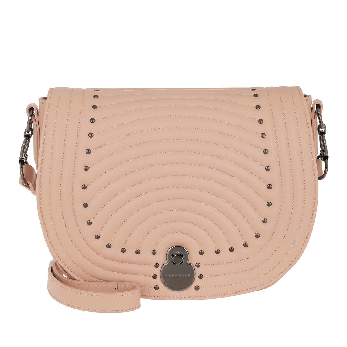 Longchamp Umhängetasche - Cavalcade Matelassé Crossbody Bag Rose - in rosa - für Damen
