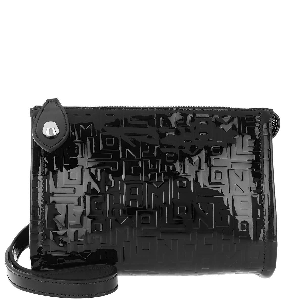 Longchamp Umhängetasche - La Voyageuse Crossbody Bag Black - in schwarz - für Damen