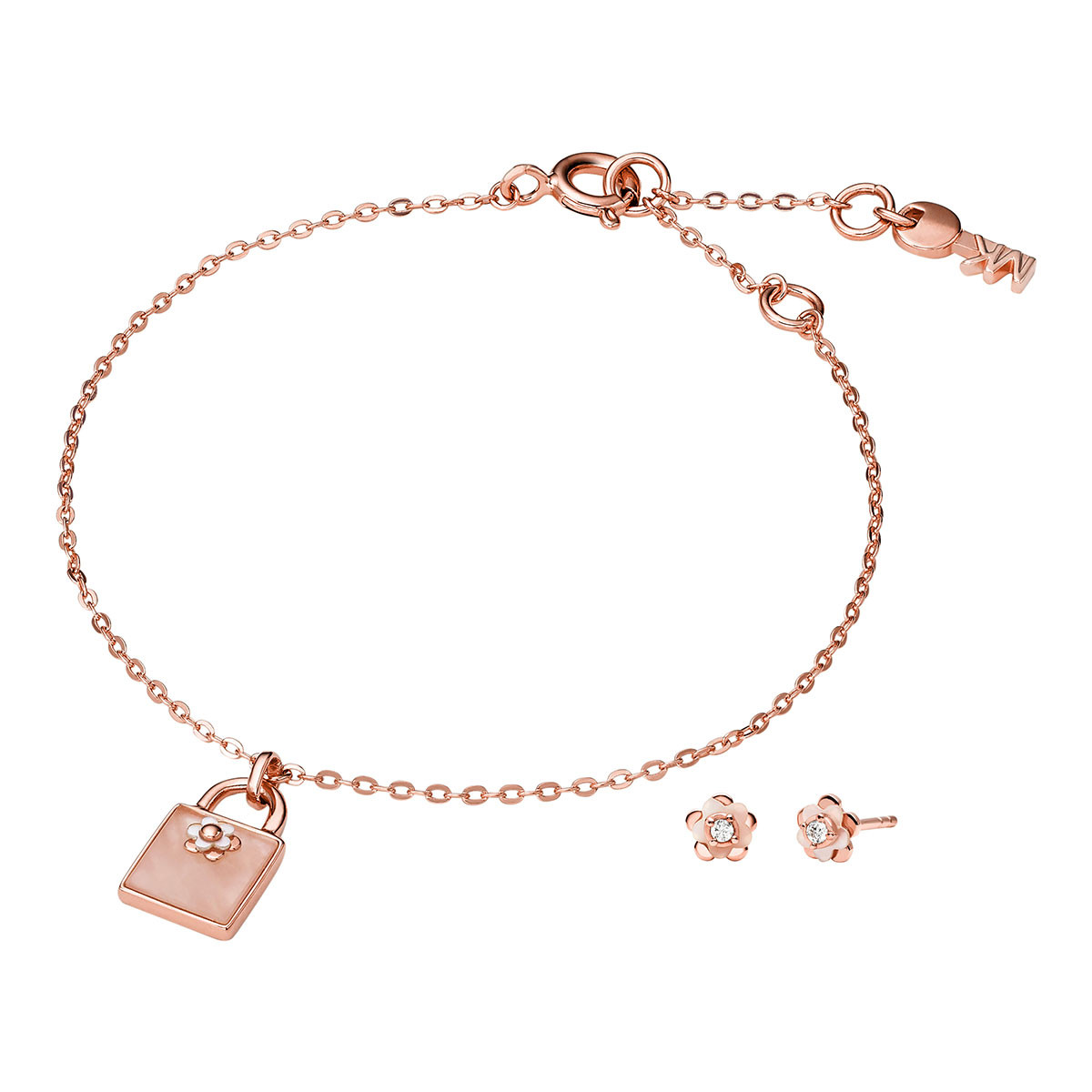 Michael Kors Armband - MKC1194AB791 Premium Set Roségold - in gold - für Damen