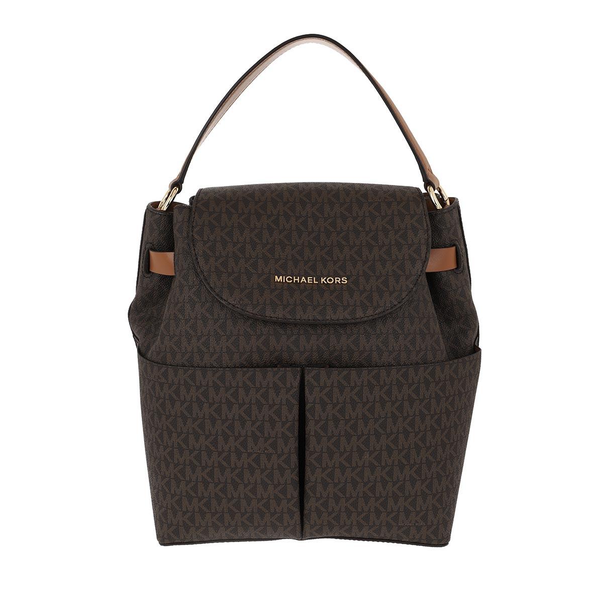 Michael Kors Rucksack - Bedford LG Backpack Brown/Acorn - in braun - für Damen
